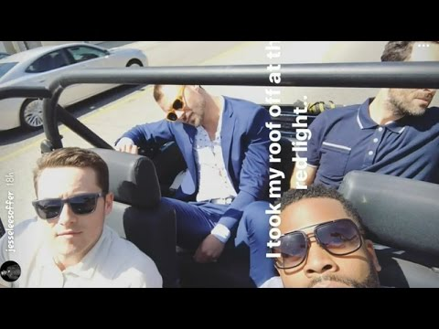 Jesse Lee Soffer with Patrick Flueger and Laroyce Hawkins  Instagram Story Videos  April 22 2017