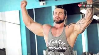 Упражнение для спины - подтягивания на турнике к груди