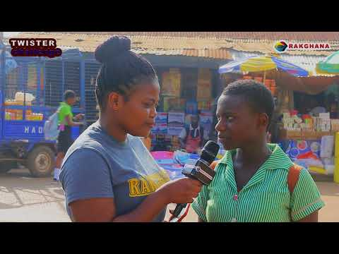 Accra Polo Club - Street quiz (twister challenge) : Konongo, Ashanti region