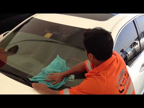 Car Wash Services Water less UAE.