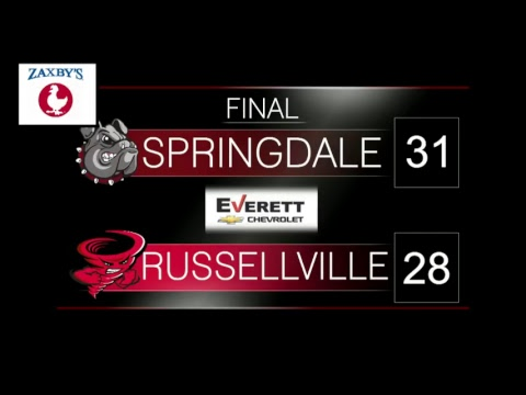 Springdale Bulldog Football | SHS vs Russellville