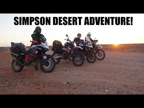 Simpson Desert Adventure! KTM 690 - Part 1 of 6