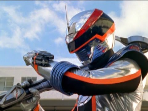 Mercury Ranger's First Morph and Fight Power Rangers Operation Overdrive