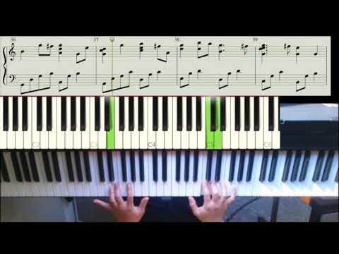 Here I am, Lord - piano cover