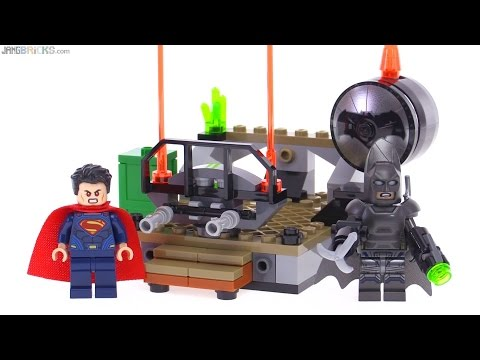 LEGO Batman v. Superman Clash of the Heroes review! 76044 - YouTube
