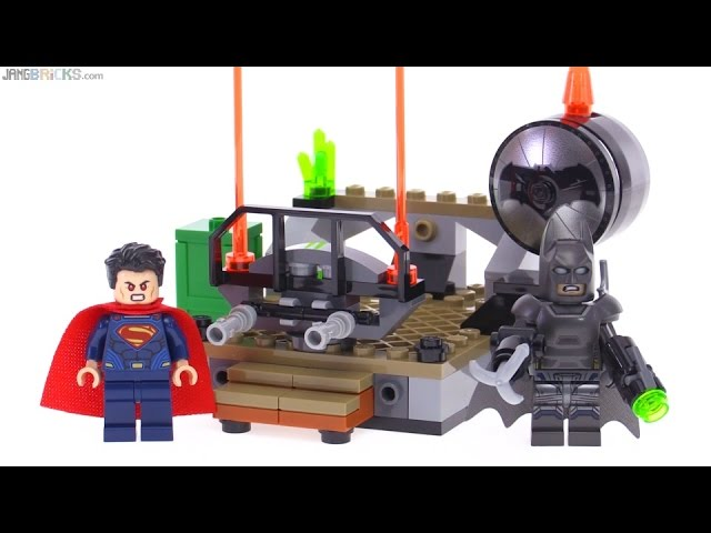LEGO Batman v. Superman Clash of the Heroes review! 76044