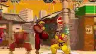 Mugen: Evil Ken vs. Sean (SF3/MvC style)