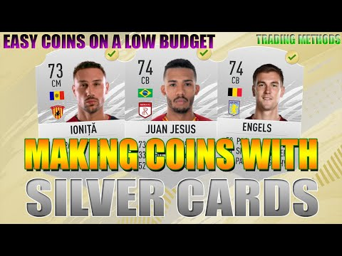 MAKING COINS ON A LOW BUDGET | EASY TO LEARN! SILVER CARDS! TRADING METHOD! | FIFA 21 ULTIMATE TEAM