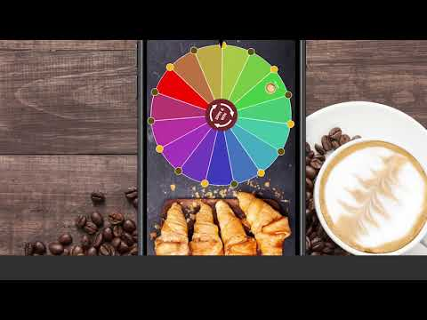 Liquid Barcodes   Spin & win   Coffee