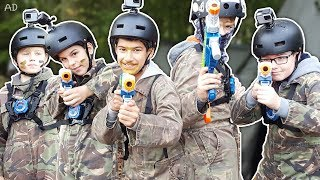 It's Lazer MAD! Outdoor laser tag fun!