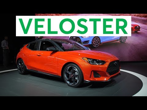 2018 Detroit Auto Show 2019 Hyundai Veloster Stays Quirky Consumer Reports