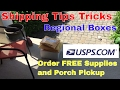 USPS Shipping How To Schedule Porch Pickup, Order Regional Boxes, and Sold Liquidation Updates eBay
