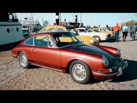 Москвичи, Porsche, De Tomaso Pantera, Мустанги и другие американцы и ретро-тачки в Финляндии.