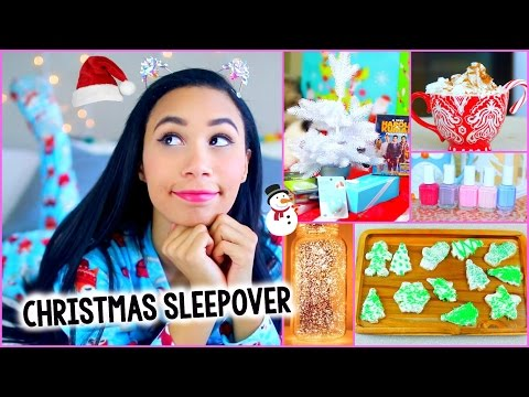 What To Do On Christmas! :Decor, Treats, Outfit + More for a DIY Holiday Sleepover! | MyLifeAsEva