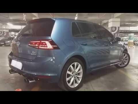 VW Golf 1.4 TSI DSG ABT Exhaust | TEST, Sürüş İzlenimi, İnceleme ( English Subtitled )