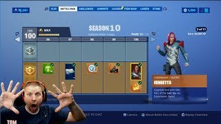 FORTNITE SEASON 10 BATTLE PASS GIVEAWAY, HELPING SUBS WITH SEASON 9 BATTLE PASS CHALLENGES FORTBYTES