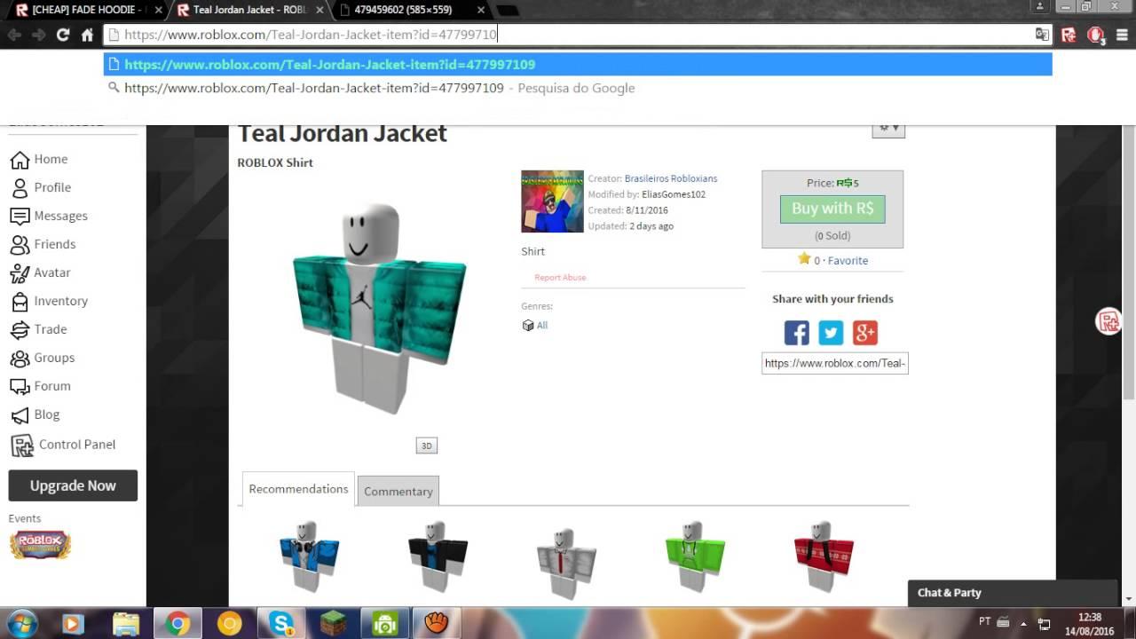 Tutorial de como fazer shirts no roblox ( Precisa de BC ...