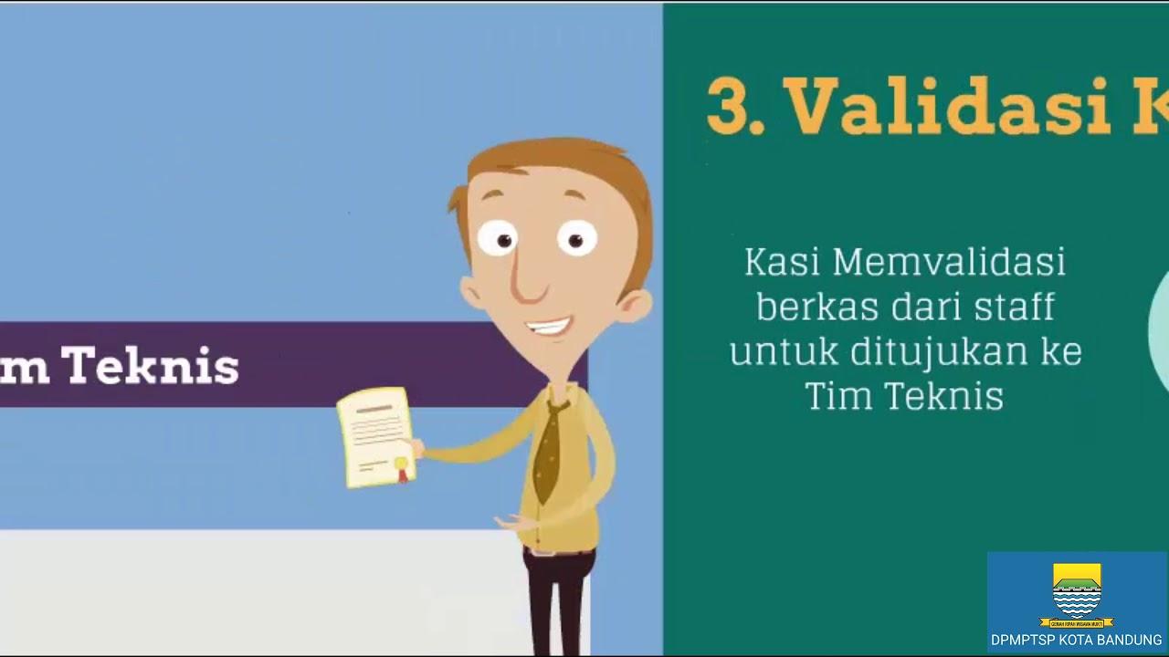 Alur Proses Perizinan di DPMPTSP Kota Bandung