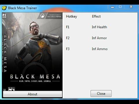 скачать трейнер для black mesa