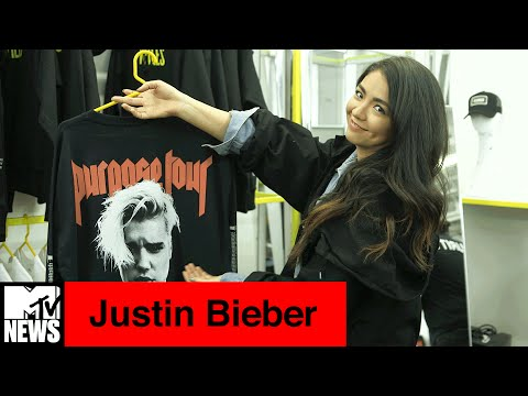Inside Justin Bieber's Purpose Tour Pop-Up Shop at VFiles | MTV News