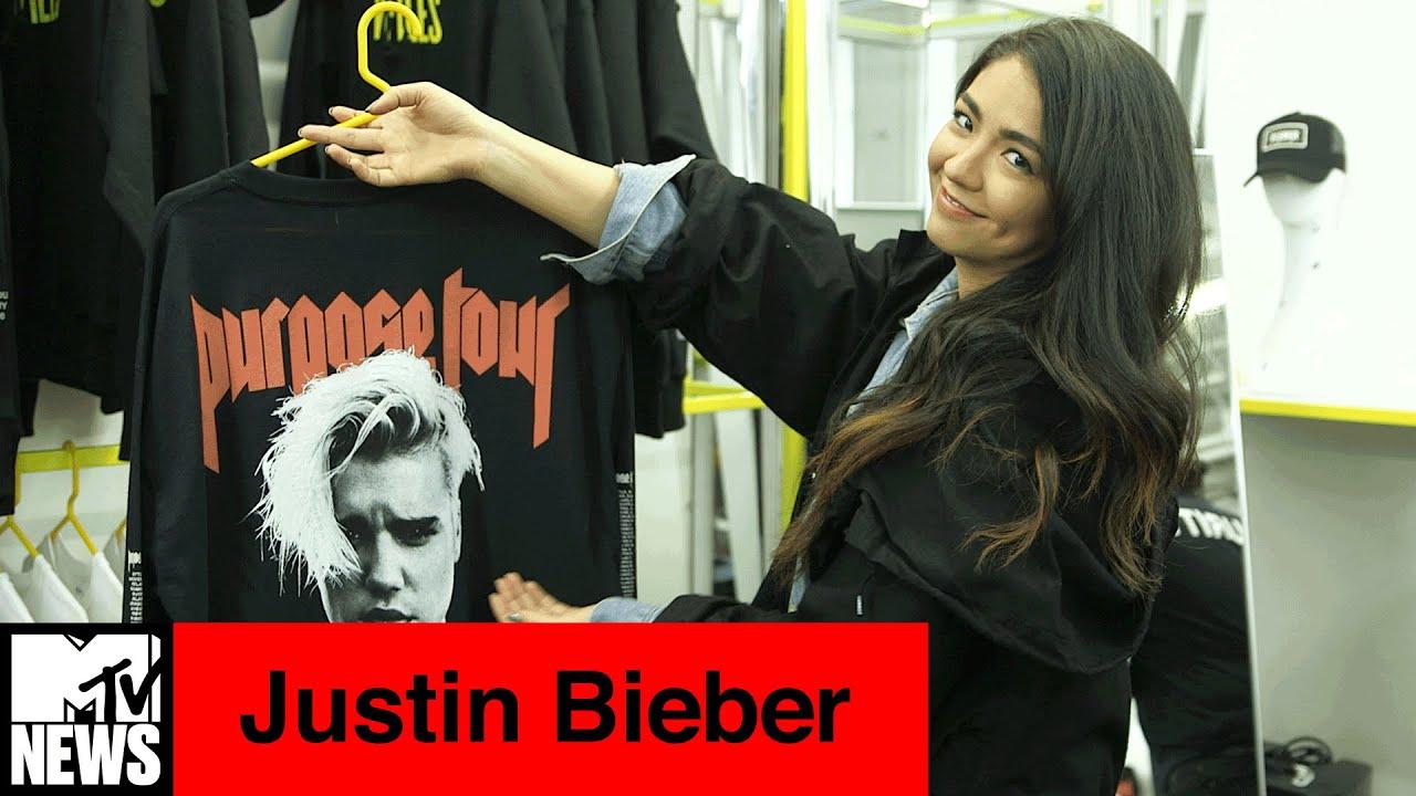 Inside Justin Bieber's Purpose Tour Pop-Up Shop at VFiles | MTV News