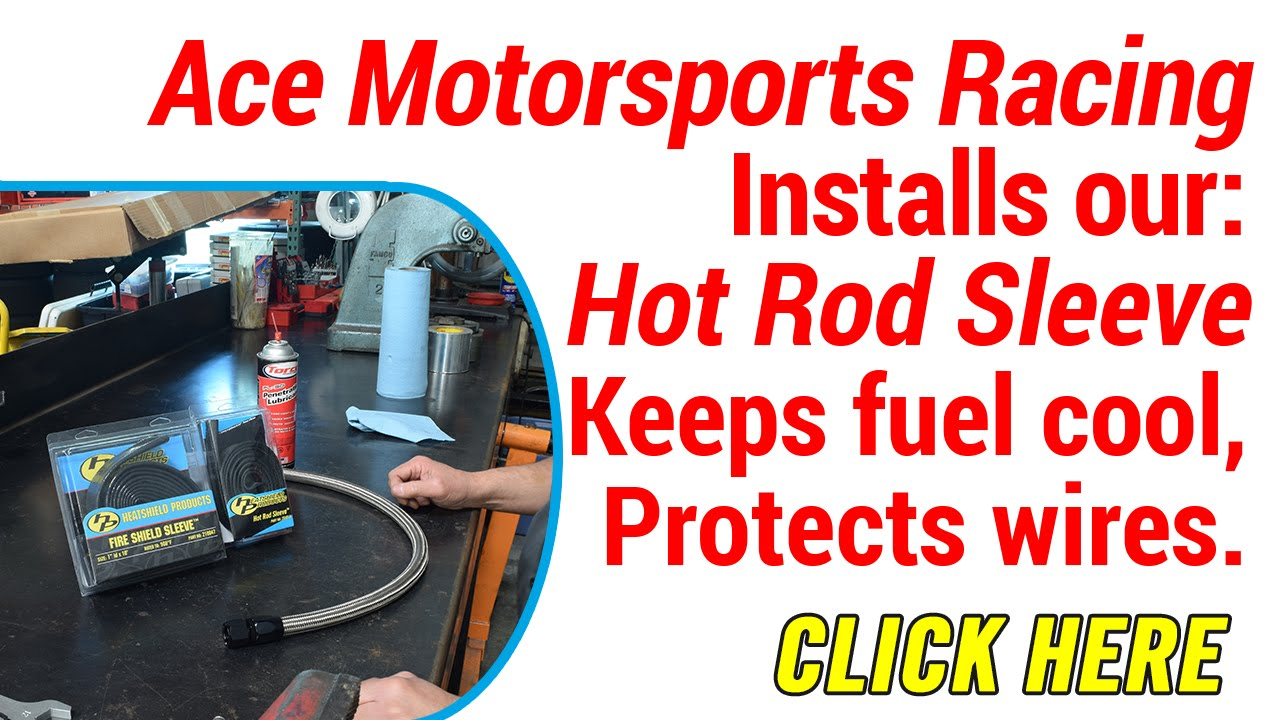 maxresdefault installing heat shield sleeve for fuel line youtube