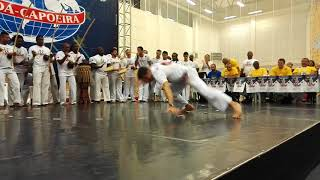 Abada Capoeira XX jogos europeus 2018 solos