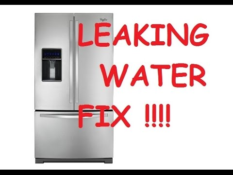 Whirlpool Refrigerator Repair Ice In Freezer Water On