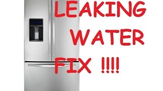Unclogging A Frost Free Refrigerator S Condensate Drain
