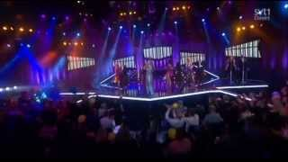 ABBA medley i finalen i Melodifestivalen 2014.
