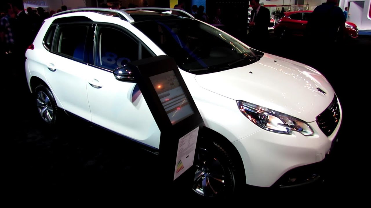 2014 Peugeot 2008 Allure Diesel - Exterior and Interior Walkaround ...