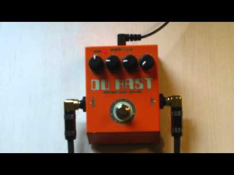 AMT Electronics Du Hast Distortion Guitar Demo HD