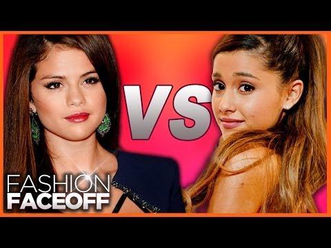 Selena Gomez vs. Ariana Grande - Fashion Faceoff 2013