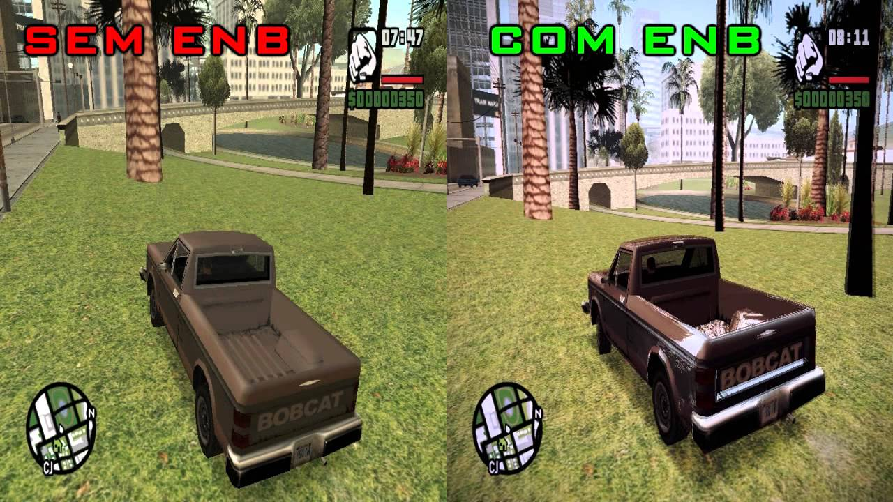 Enb series gta vice city for low pc : Countryside trailer