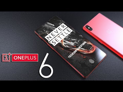 Oneplus 6 introduction Concept with Vertical Camera Design ,the iPhone X for the Masses