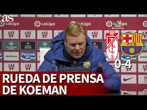 Download Granada 0-Barcelona 4 | Rueda de prensa de Koeman | Diario AS