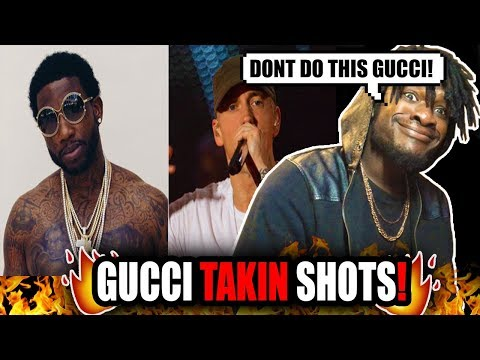 Gucci Mane Disses Eminem (REACTION!)