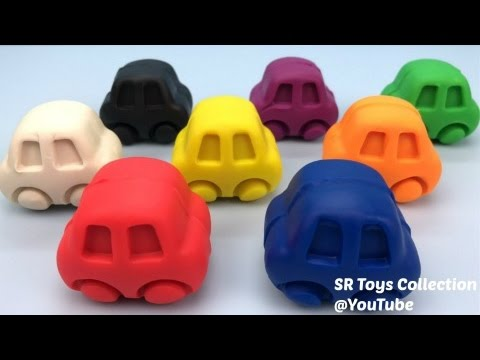 Thumbnail: Play and Learn Colors with Play Doh Cars Tsum Tsum Molds Fun & Creative for Kids Bubble Guppies Toys