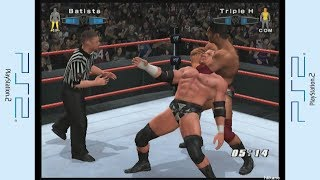 PS2 Component to HDMI Converter Test (WWE SmackDown! vs. Raw 2006)