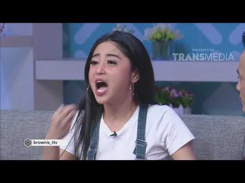 BROWNIS - Mengharukan !! Dewi Persik Terkejut, Nangis Kedatangan Angga Wijaya (30/5/18) Part 1