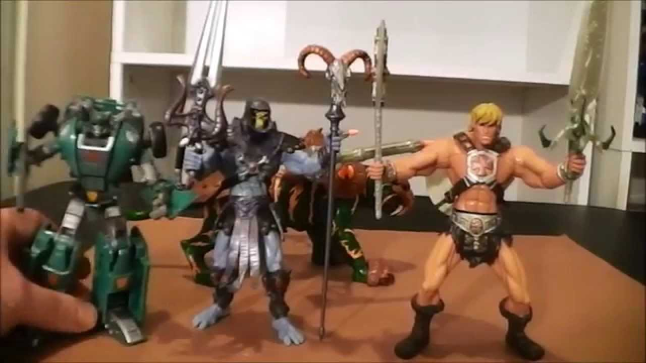 he-man and the masters of the universe 2002 action figures