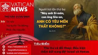 Radio thứ Sáu 21/05/2021 - Vatican News Tiếng Việt