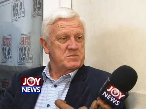 Rob Hooijer talks to Joy News