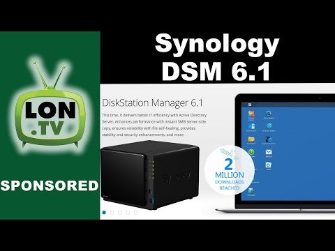 New Features in Synology DSM 6.1 for Synology NAS Devices : Universal Search, Active Directory