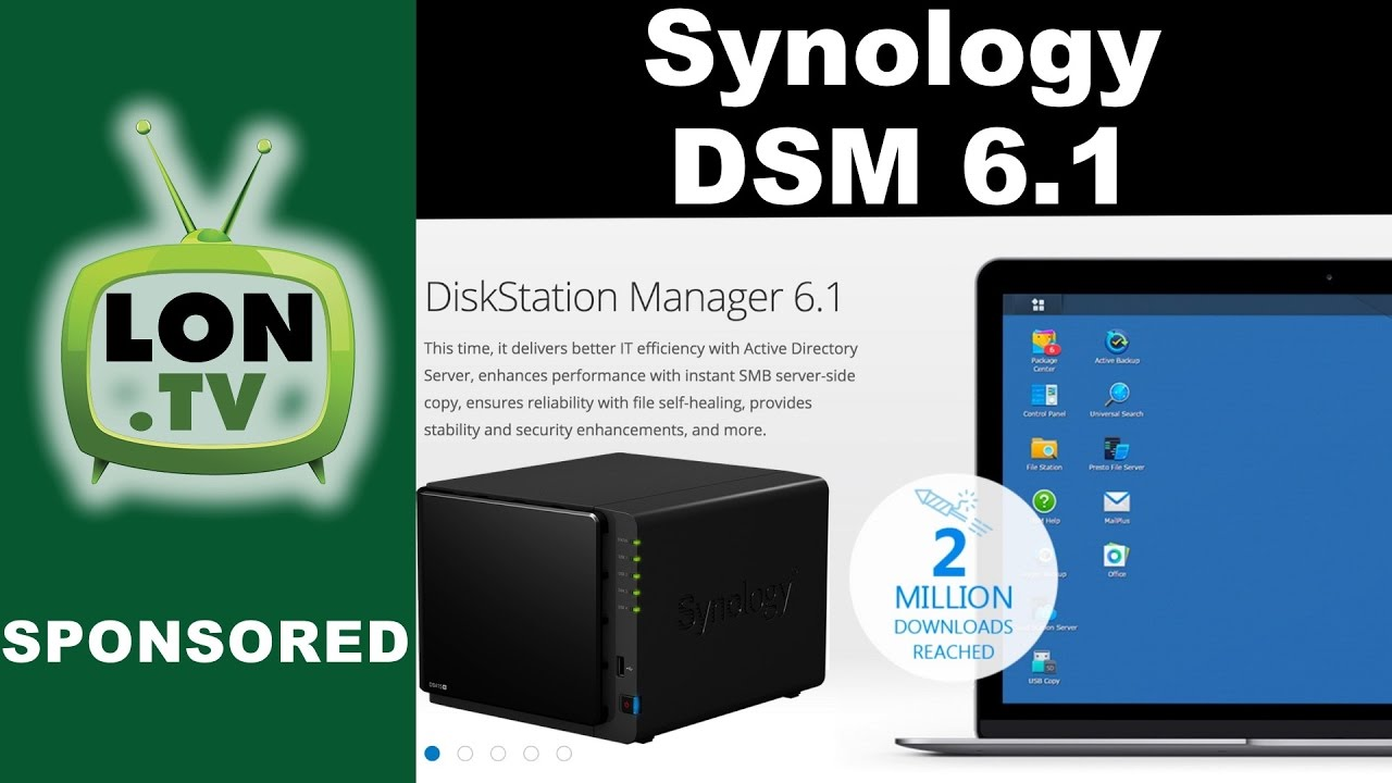 New Features in Synology DSM 6 1 for Synology NAS Devices : Universal  Search, Active Directory