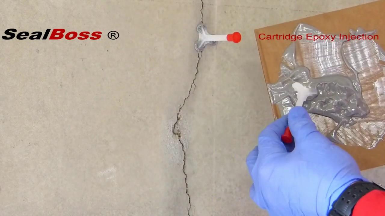 Epoxy Injection Resin Paste Cartridge Sealboss Corp