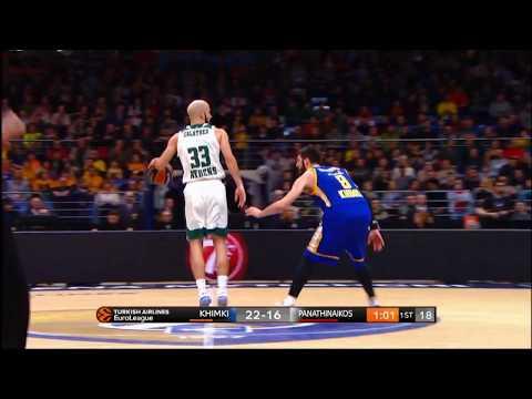Spain Pick and Roll(Panathinaikos)