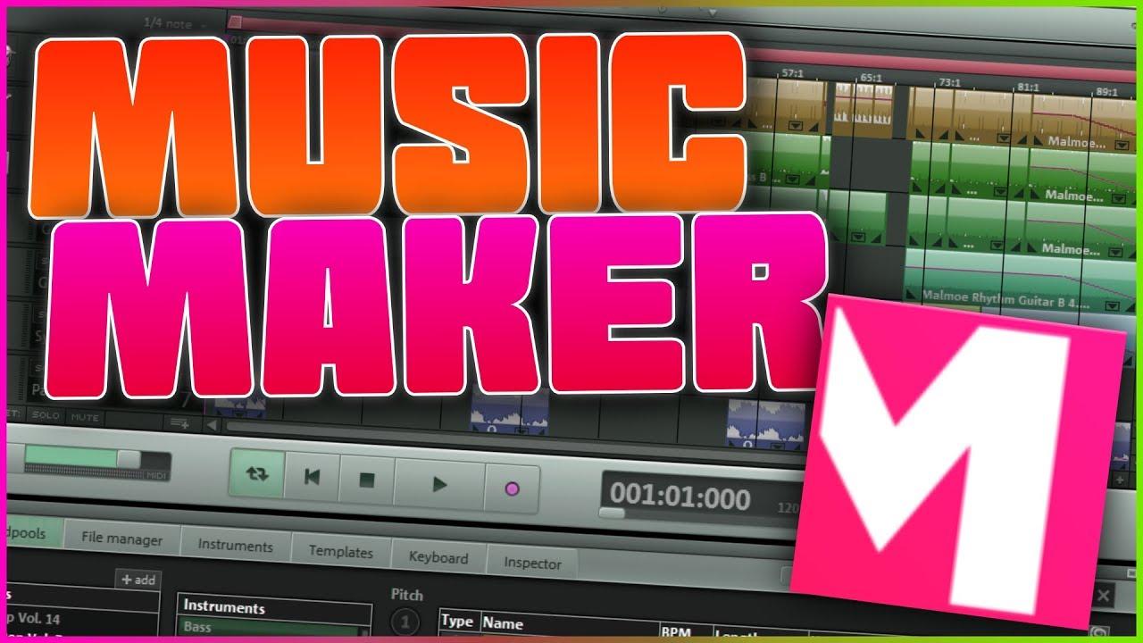 descargar magix music maker 17 trial