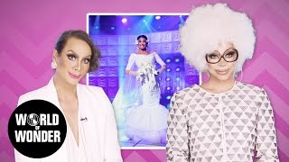 "FASHION PHOTO RUVIEW: S9 Ep 2 ""White Party"" w/ Raja & Raven 