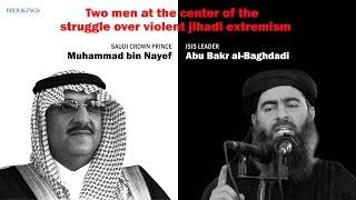 ISIS leader al-Baghdadi and Saudi Crown Prince bin Nayef